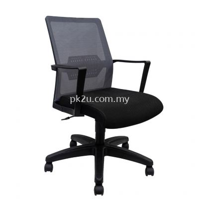 PK-BGMC-49-L-L1- Mesh 49 Low Back Mesh Chair(Plastic Base)