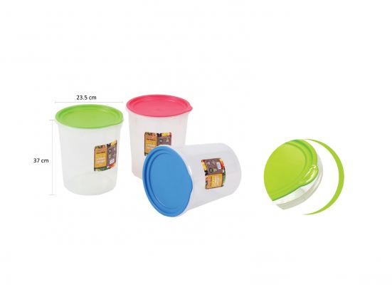(OP3004) Airtight Round Storage Container