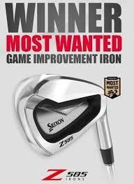 SRIXON Z585 STEEL STIFF FLEX IRONS 5-9,PW (6 PIECES)