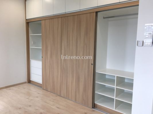 Custom made wardrobe design in PJ / KL