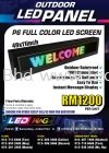 P6 Outdoor LED Screen Promo! Full Color Series Outdoor