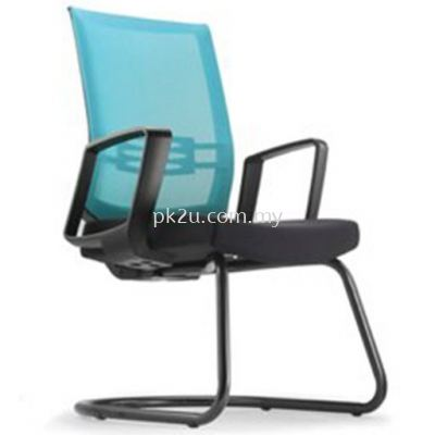 PK-ECMC-8-V-N1- Intouch Visitor Mesh Chair
