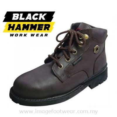 Men Safety High Cut With lace BH4660-BROWN Colour
