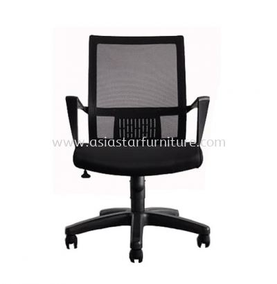 BELCO LOW BACK MESH CHAIR C/W POLYPROPYLENE BASE