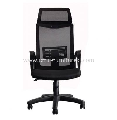 BENSON HIGH BACK MESH CHAIR C/W POLYPROPYLENE BASE