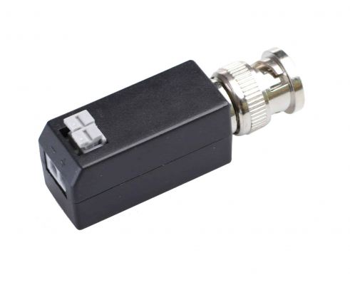 1 port HD AHD/TVI/CVI 1080p Video Balun, BNC & Push-Pin Terminal Type