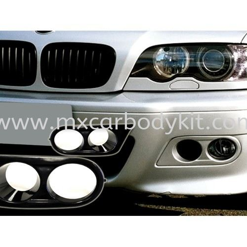 BMW 3 SERIES E46 M3 FRONT BUMPER HAMAN LOOK FOG LAMP COVER E46 (3 SERIES) BMW