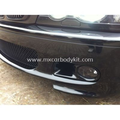 BMW 3 SERIES E46 M-TEK HAMAN LOOK FOG LAMP COVER