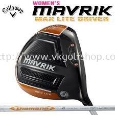 Callaway Mavrik Max Lite Driver 11.5 DEGREE - Women Version DIAMANA 40 L FLEX