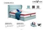 6ft CasaBlanca Divan + 3002 Headboard King Size Bed Bed Bedroom Furniture