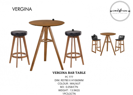 Vergina Bar Table
