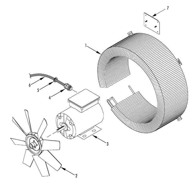 Condenser Fan Group (180D8)