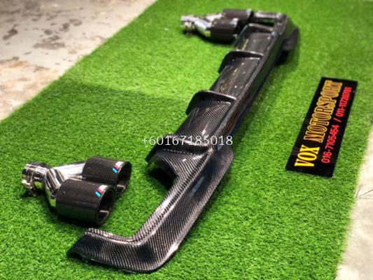 2010 2011 20122013 2014 2015 2016 2017 2018 bmw f10 vorsteiner rear diffuser for msport replace replace upgrade vorsteiner Performance look real carbon fiber Material new set