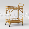 Rattan Bar Trolley - 003 Bar Trolley Furniture Series