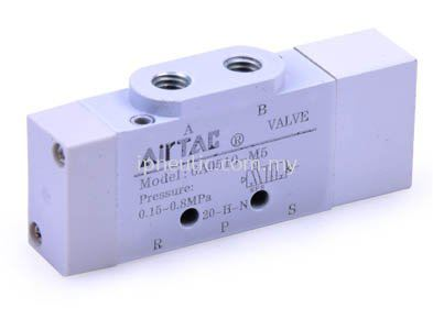 AIR VALVE (5/2 WAY, 5/3 WAY) 6A SERIES