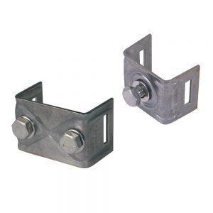 Mounting Brackets with straight legs �C SS-CrNi
