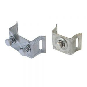 Mounting Brackets with flared legs SS-CrNi