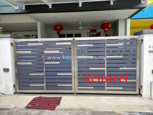 wood colour main gate70