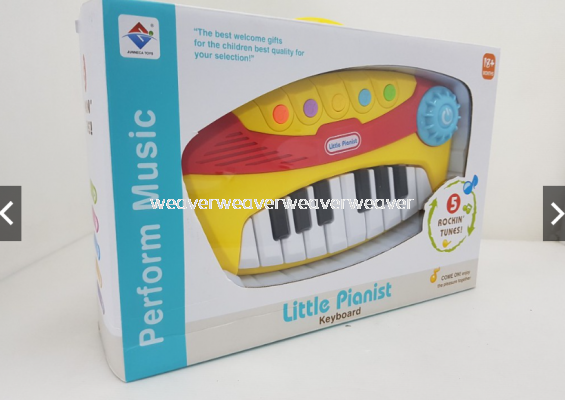 LOCAL SELLER READY STOCK PERFORM MUSIC LITTLE PIANIST KEYBOARD MAINAN