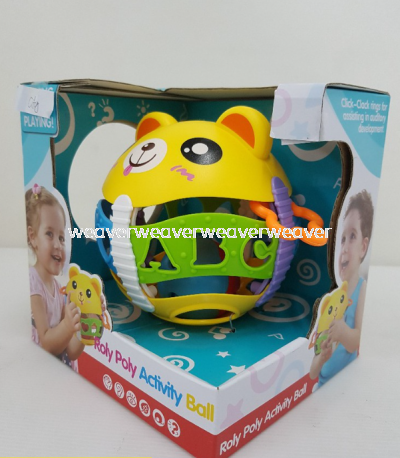 LOCAL SELLER READY STOCK ROLY POLY ACTIVITY BALL 35805 MAINAN
