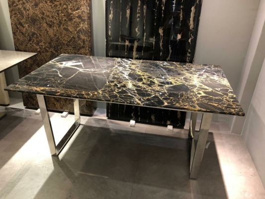 Portoro Gold | China | 6 seaters | Table Only (Last Unit)(non-coat)