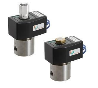 FP* Series for Food Manufacturing Processes Direct Acting 2, 3-port Solenoid Valve (General Purpose Valve) - AB-FP2 �� AG-FP2