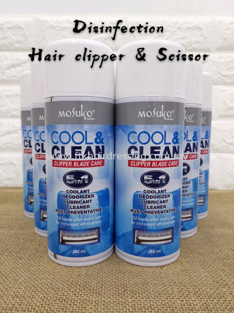 Mosuko Cool Clean Clipper Blade Care 380ml