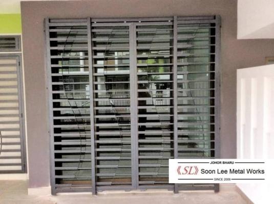 Powder Coated Metal Door Grill/Window Grill