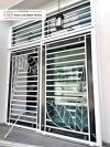 Powder Coated Metal Door Grill/Window Grill Powder Coated Metal Door Grill / Window Grill