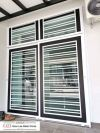 Powder Coated Metal Door Grill/Window Grill Powder Coated Metal Door Grill / Window Grill