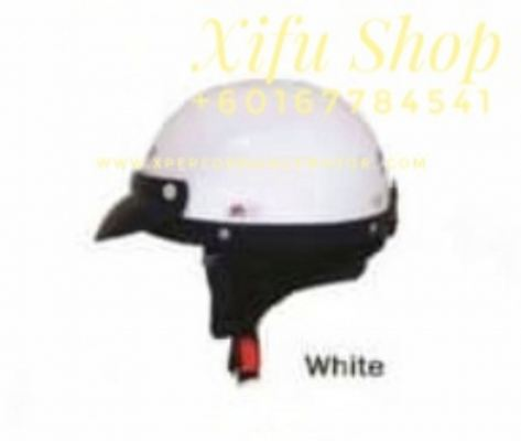 THREE QUARTER HELMET MHR WHITE (.   )