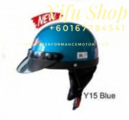 THREE QUARTER HELMET MHR Y15 BLUE (.    )