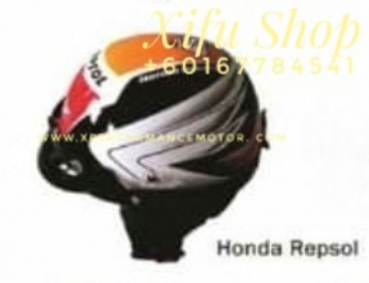 THREE QUARTER HELMET MHR GRAPHIC HONDA REPSOL (.      )
