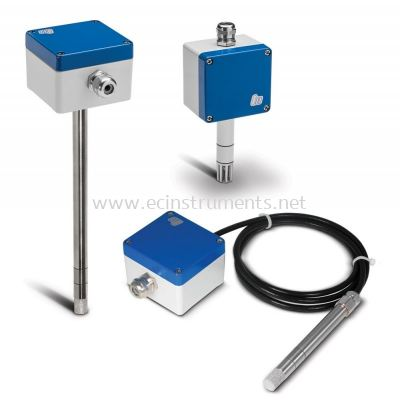 Humidity and temperature sensors, resistant to pressure or heat