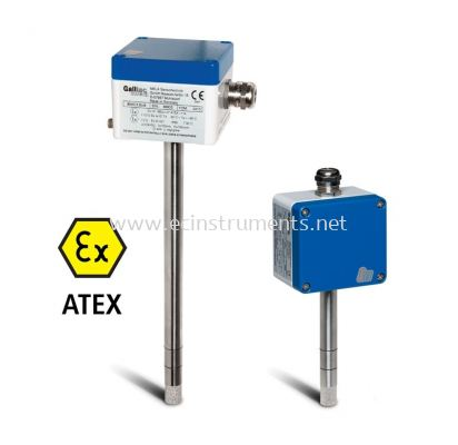Humidity and Temperature Sensor with ATEX certificate types KC.Ex / GC.Ex