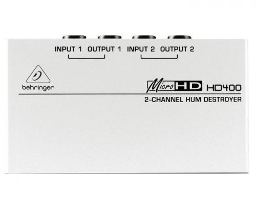 Behringer HD400 2 Channel Hum Destroyer