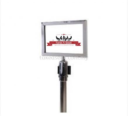 Stainless Steel Retractable Q-Up Stand