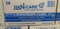 Han-Care Gloves Examination & Latex Gloves Health & Safety