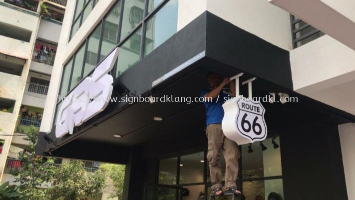 GBS 3D Led channel box up lettering frontlit signage at banggi kuala Lumpur