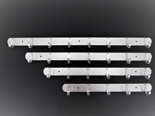 HP87028-6 6PCS 头铝制衣架
