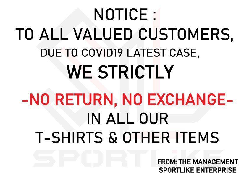 NO RETURN / NO EXCHANGE
