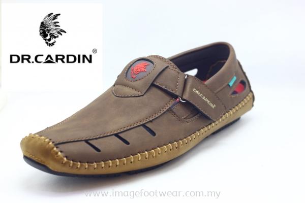 Dr. Cardin Men Mocassin DC-60762- DARK BROWN Colour