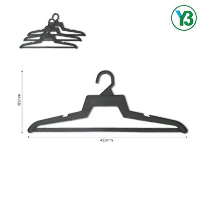 40013-318 435mm Adult Shirt Hanger-Black