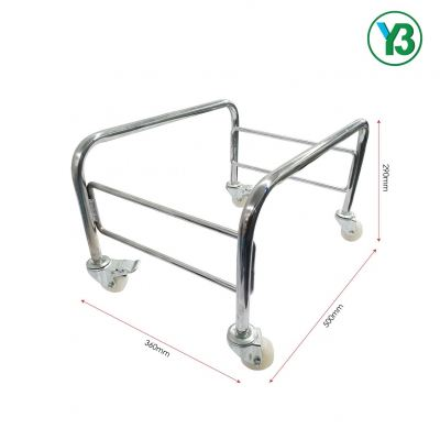 80078-CHROMED STAND FOR S/BASKET 478X333MM