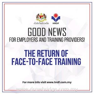 The Return of Face-To-Face Training