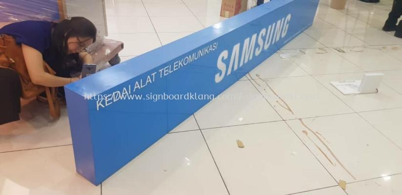 Samsung Eg acrylic Light box at time square Kuala Lumpur