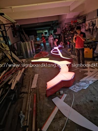 Gap power box up LED conceal 3D lettering signage signboard at kajang Kuala Lumpur
