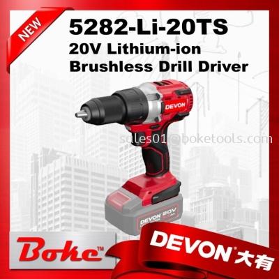 DEVON 5282-Li-20TS/N 20V Drill Driver