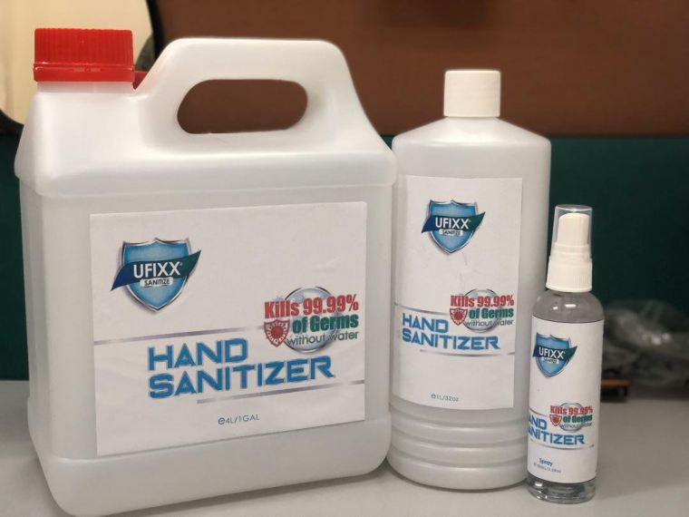 EH 75% Alcohol Hand Sanitizer 10 Litre(10,000ml) Cleaning Chemical