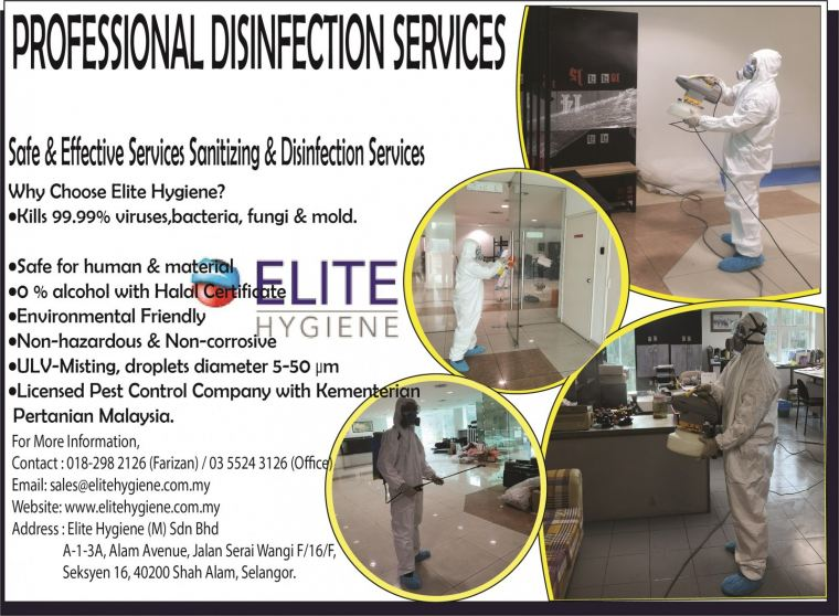 Disinfection Service Cleaning Chemical